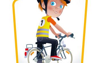Logo fietsexamen
