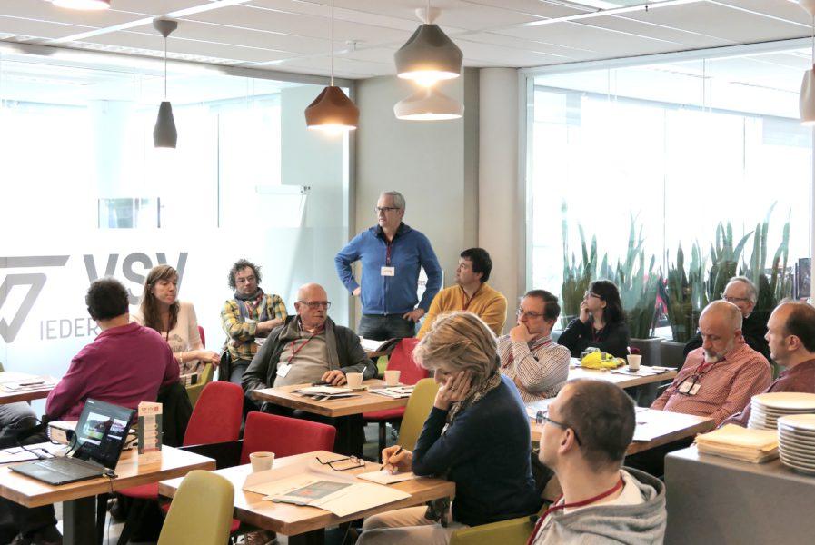 Een volle zaal voor ons eerste infomoment vrijwilligers voor veilig verkeer
