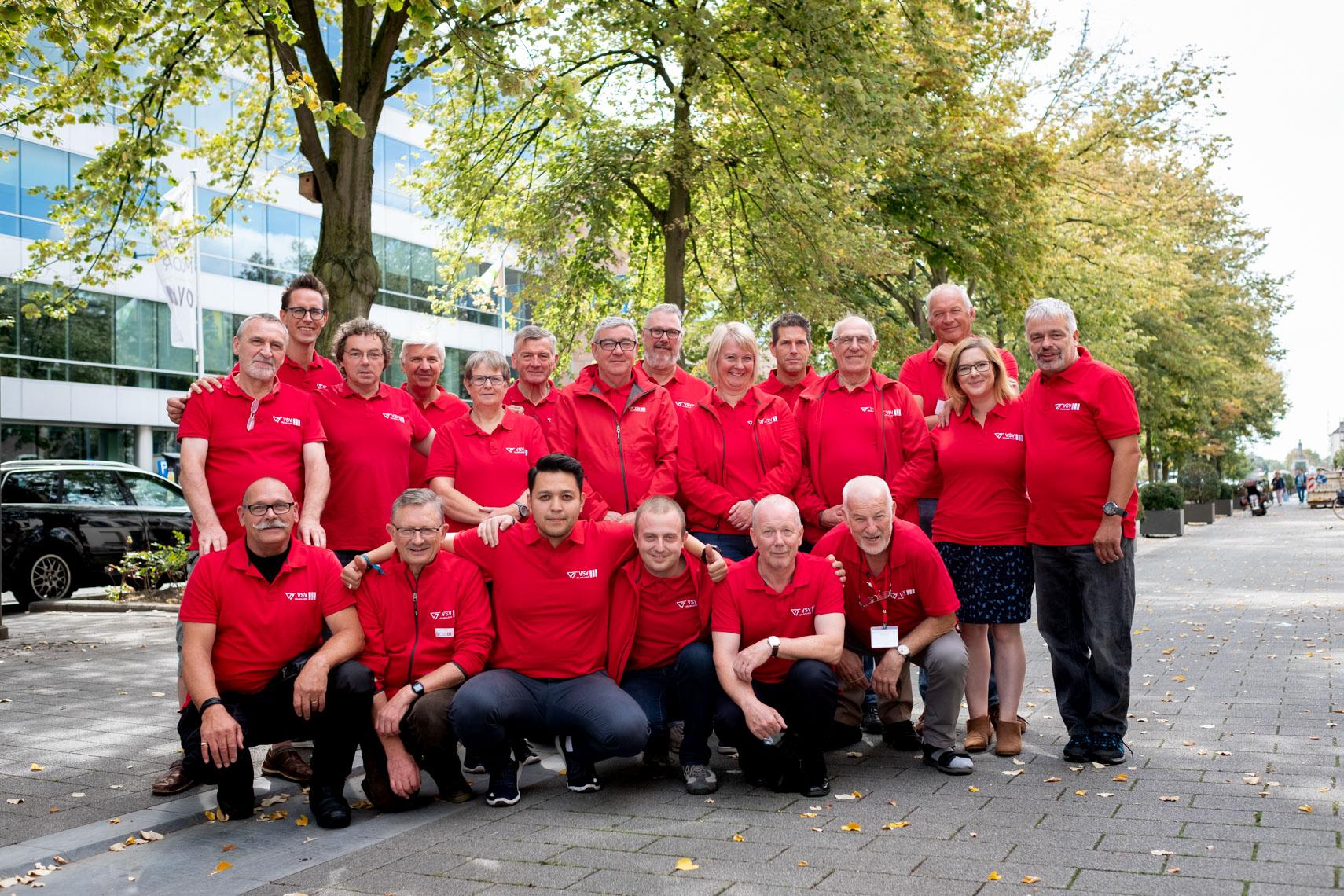 VSV-vrijwilligers